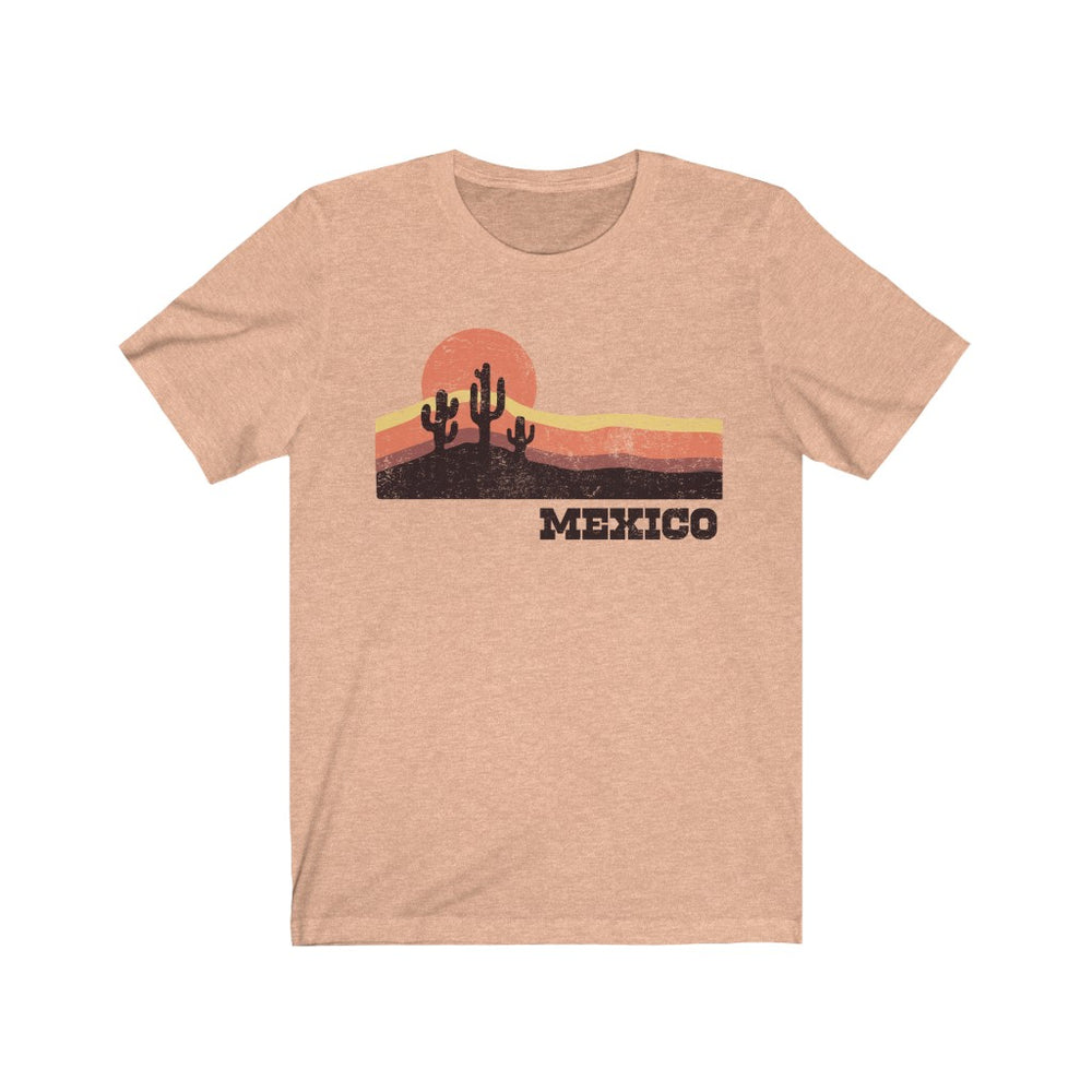 (Soft Unisex Bella) Mexican Sunset Mexico (darker) - Iconic World Destinations