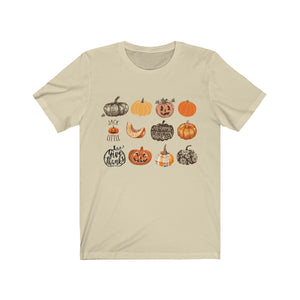 (Soft Unisex Bella) It's the Little Things Pumpkins Harvest Halloween Thanksgiving Fall