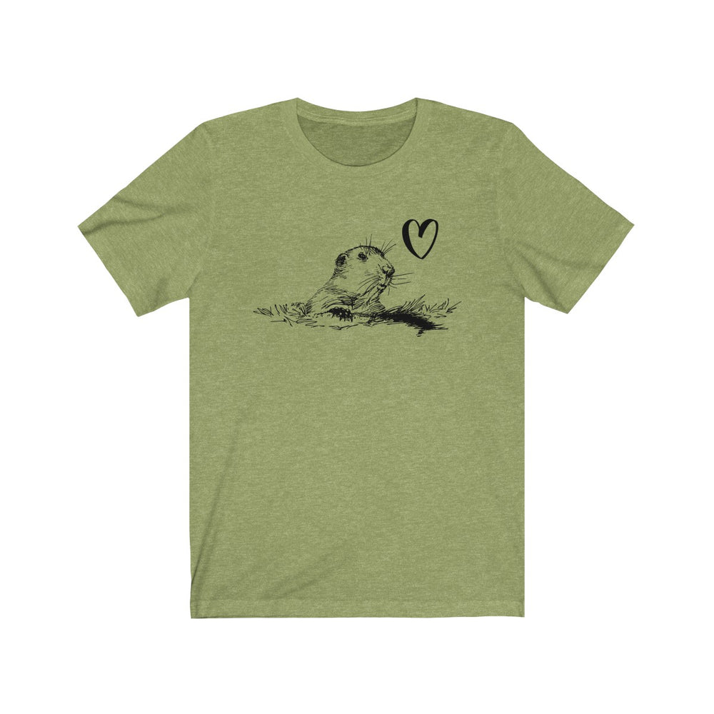 (Soft Unisex Bella) Groundhog Love