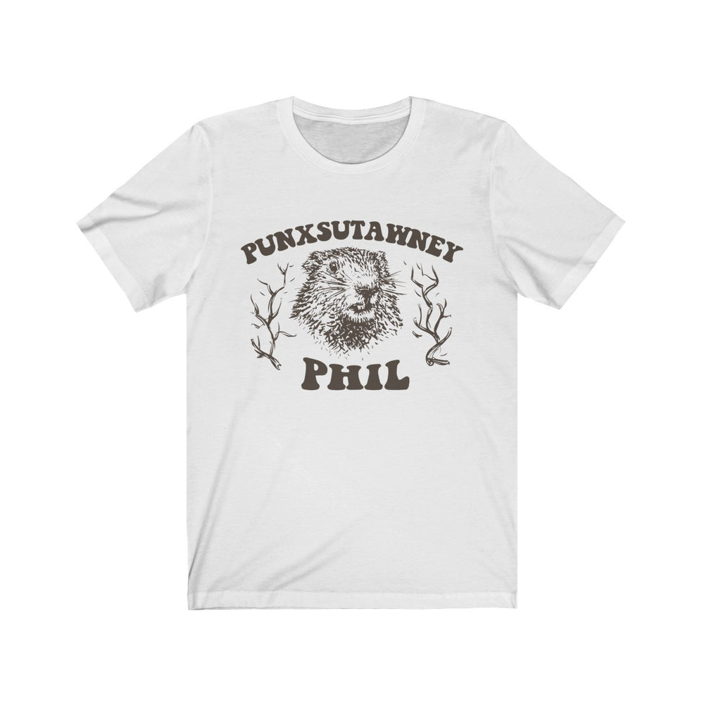 (Soft Unisex Bella) Punxsutawney Phil Groudhog