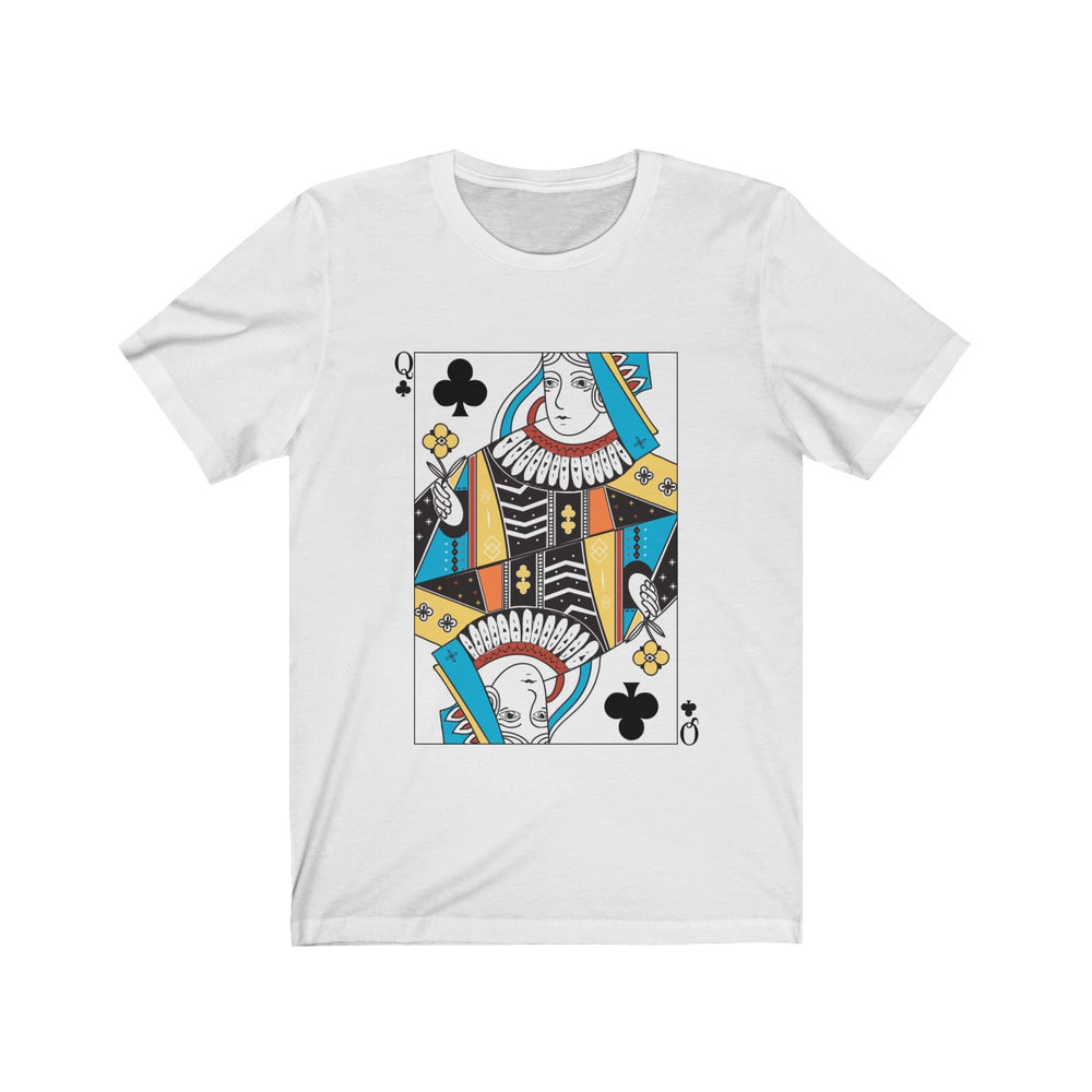 (Soft Unisex Bella) Playing Cards Costume - Queen of Clubs