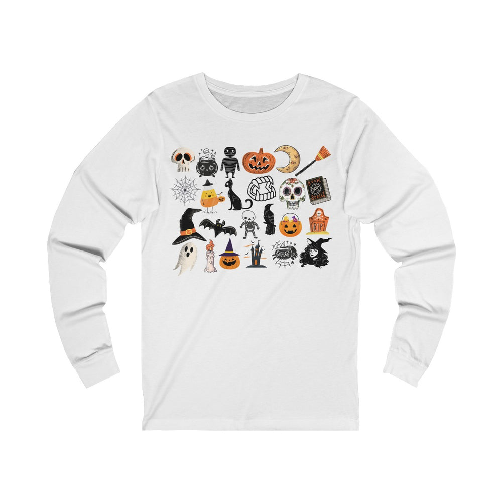(Soft Unisex Bella Jersey Long Sleeve) It's Little Things - Halloween