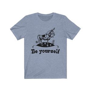 (Soft Unisex Bella) Be Yourself Bull (Ferdinand Inspired) Nostalgia Reading Teaching