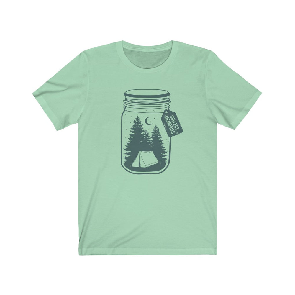 (Soft Unisex Bella - other colors) Collect Memories (teal)