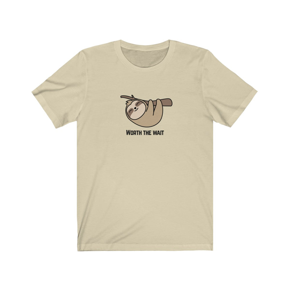 (Soft Unisex Bella) Worth the Wait-T-Shirt-Ellas-Canvas-DesIndie