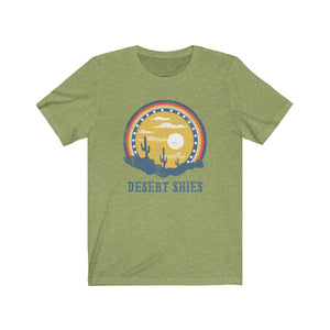 (Soft Unisex Bella) Desert Skies Cactus Sunset | Iconic State Tee T-Shirt