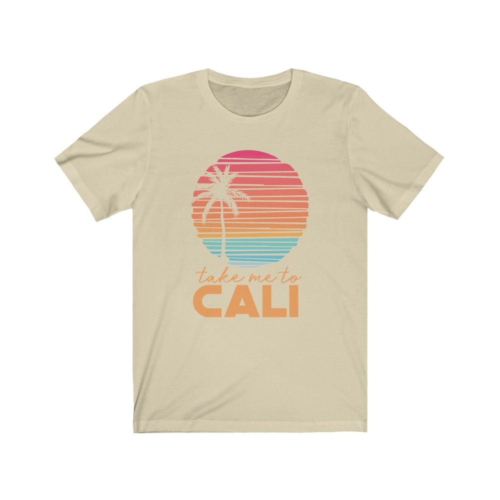 (Soft Unisex Bella) Take Me To California | Iconic State Tee T-Shirt