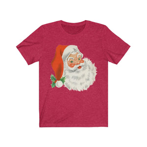 (Soft Unisex Bella) Retro Santa Head