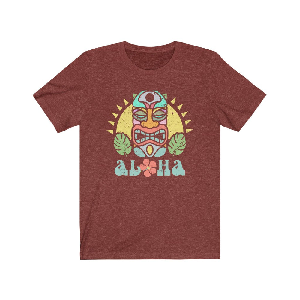 (Soft Unisex Bella) Aloha Tiki - Iconic World Destinations