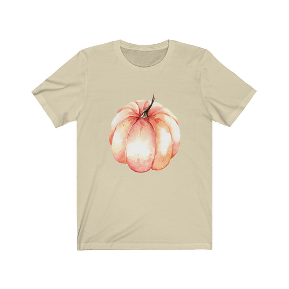 (Soft Unisex Bella) Pumpkin-T-Shirt-Ellas-Canvas-DesIndie