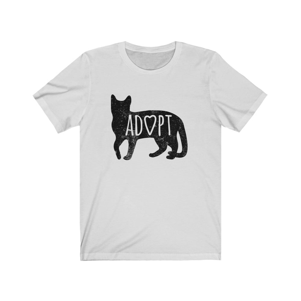 (Soft Unisex Bella - Other colors) Adopt a Cat (black)