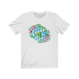 (Soft Unisex Bella) What We Learn Becomes a Part of Who We are Watercolor Graphic-T-Shirt-Ellas-Canvas-DesIndie