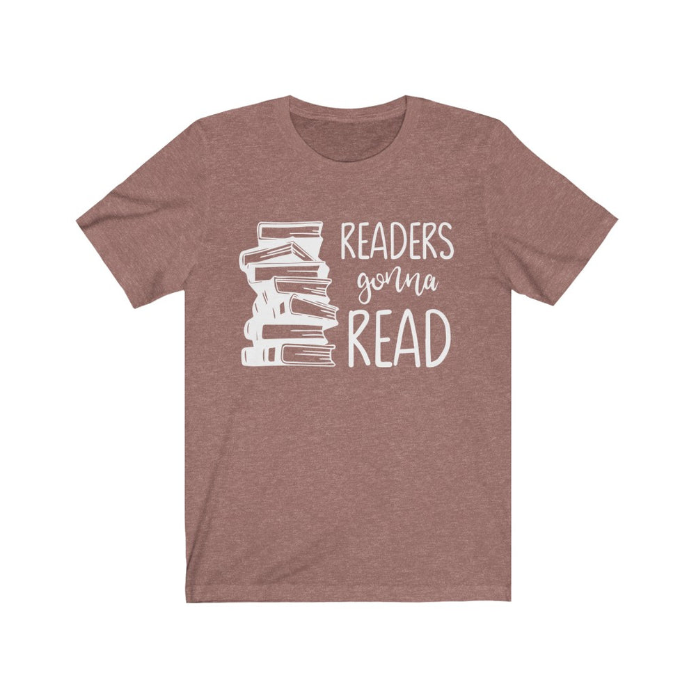 (Soft Unisex Bella) Readers Gonna Read Books (white)