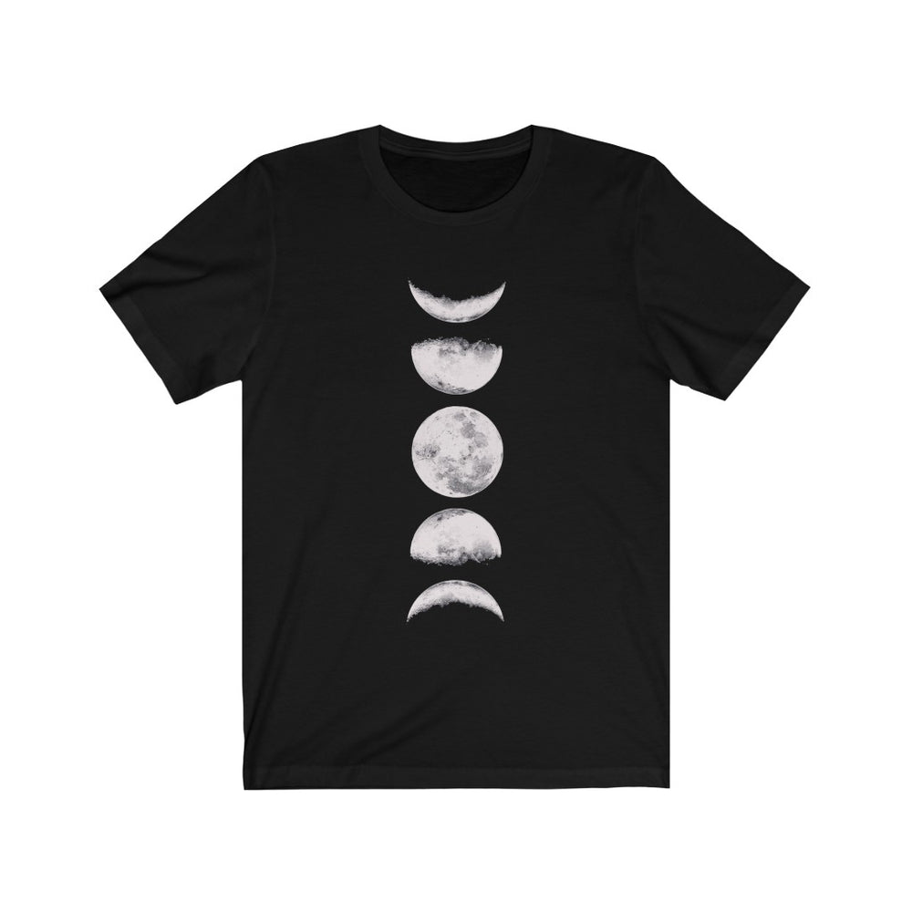 (Soft Unisex Bella - other colors) Phases of the Moon