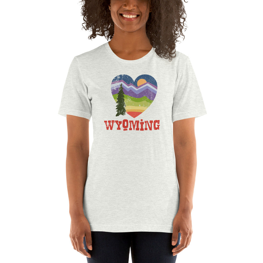 (Unisex Bella Canvas) Wyoming Love
