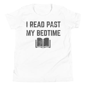 (Youth Bella T-Shirt) I Read Past My Bedtime