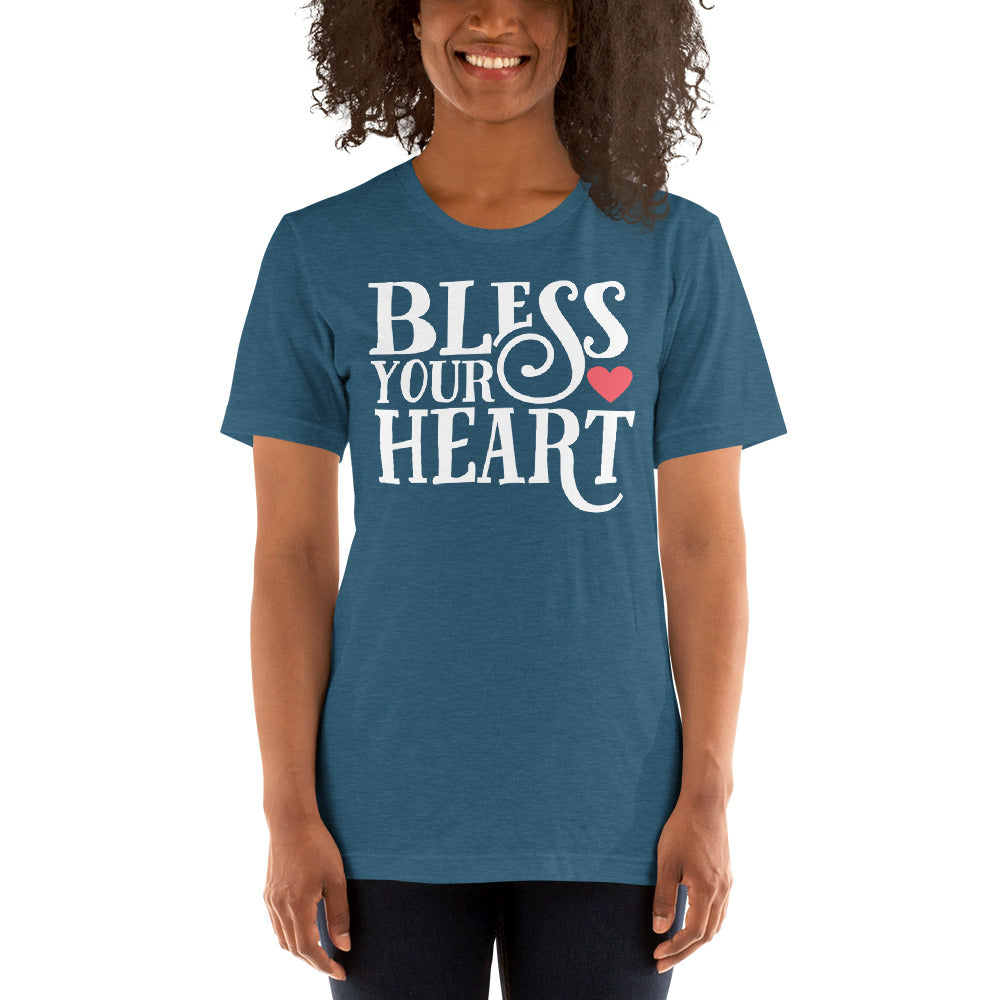 (Soft Unisex Bella - Other Colors) Bless Your Heart