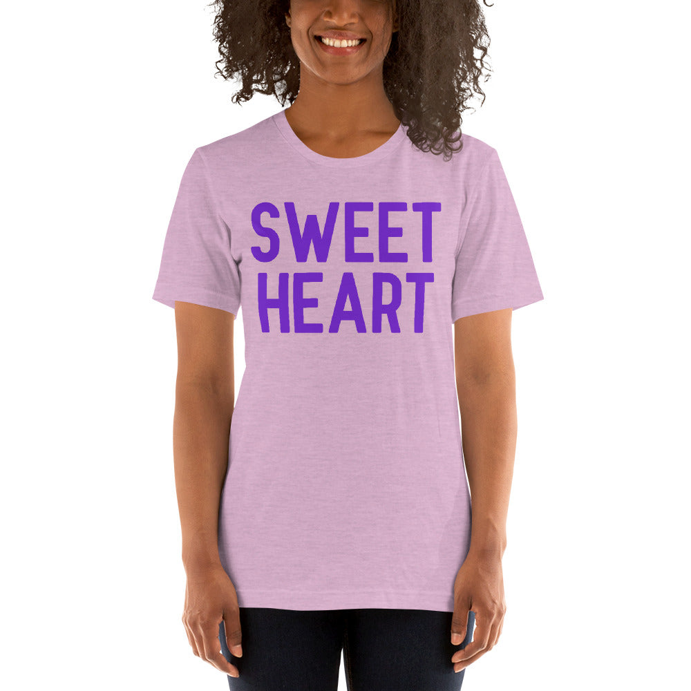 (Soft Unisex Bella) Conversational Candy Hearts Valentine - SWEET HEART
