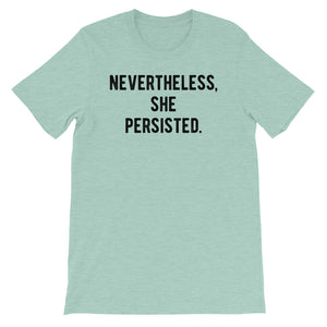 Nevertheless She Persisted. #TEAMGRIT Custom Order-Ellas-Canvas-DesIndie