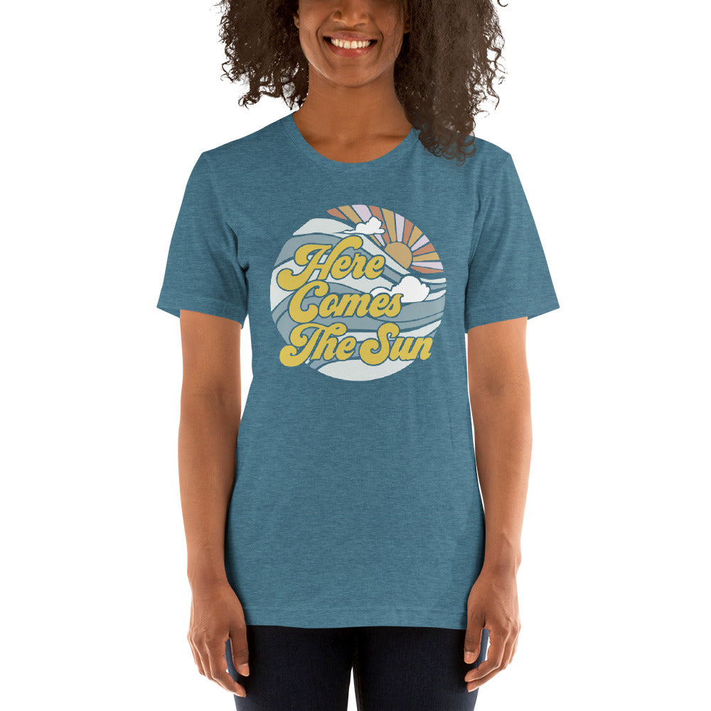 (Soft Unisex Bella - Other Colors) Here Comes the Sun Again