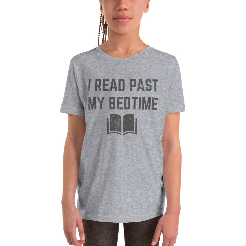 Youth Bella T-Shirt - I Read Past My Bedtime