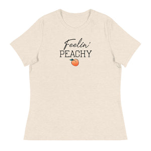 Feelin' Peachy Peach Women's Relaxed T-Shirt