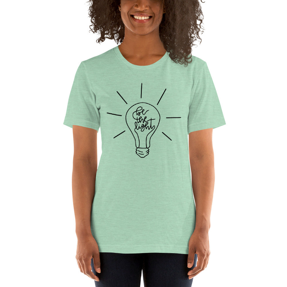 (Soft Unisex Bella) Be the Light