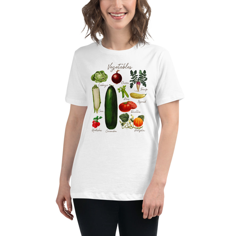 (Women's Relaxed Bella Jersy) Vegetables