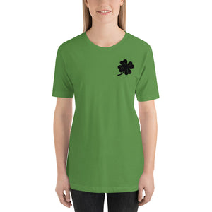 (Soft Unisex Bella - greens) Lucky Clover Corner St. Patrick's Day