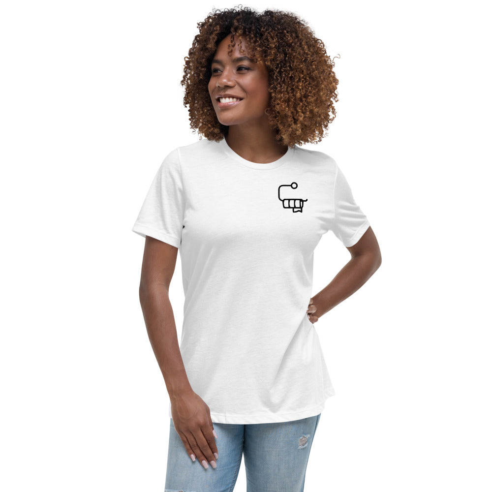 Out of Toilet Paper Roll Corner - Women's Relaxed Bella T-Shirt