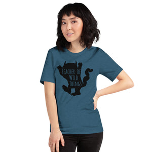 (Soft Unisex Bella - Other Colors) Teacher of Wild Things parody