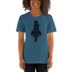 (Soft Unisex Bella - Heather Deep Teal, Orchid, Dusty Blue, Forest) Suppose She is a WIldflower