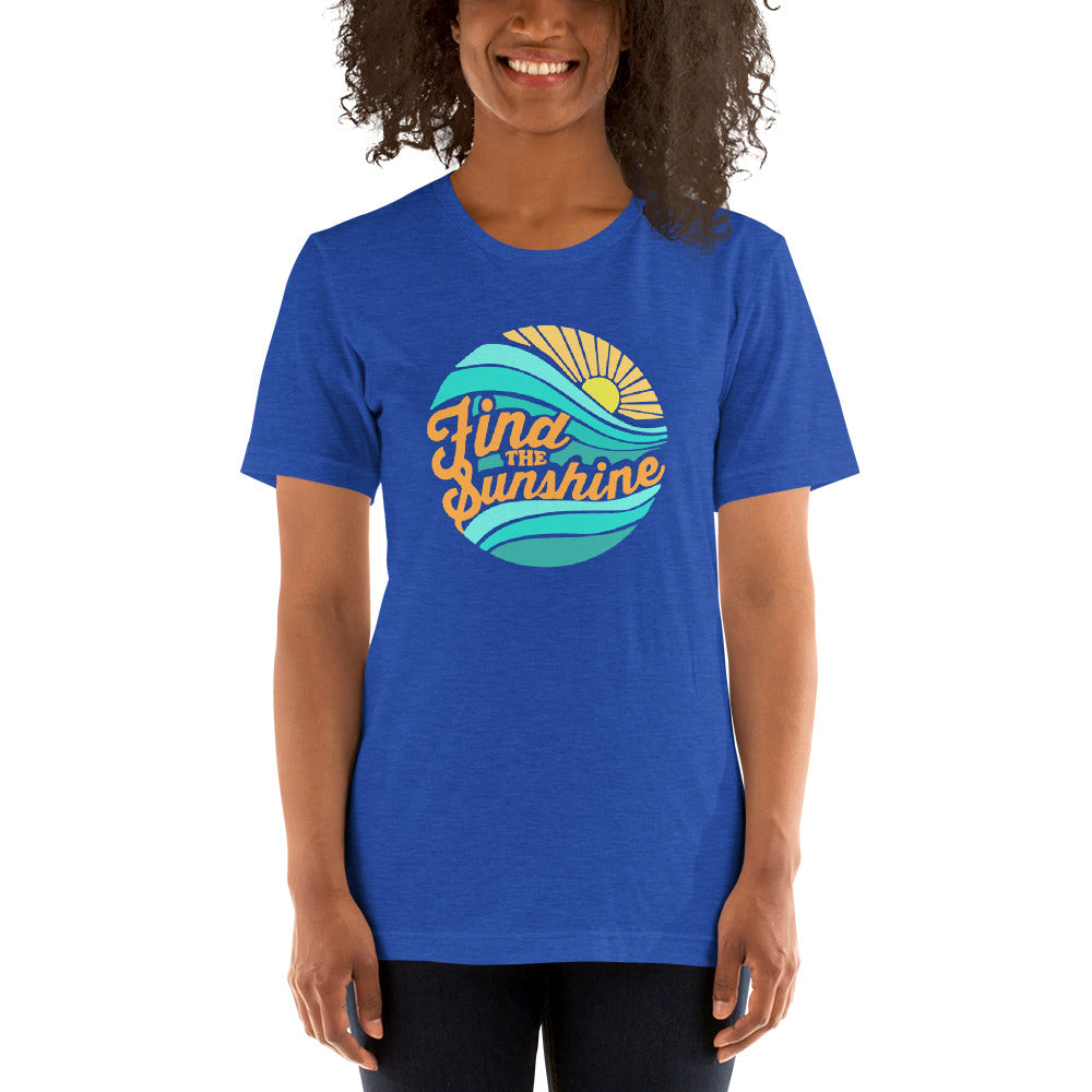 (Soft Unisex Bella) Find the Sunshine