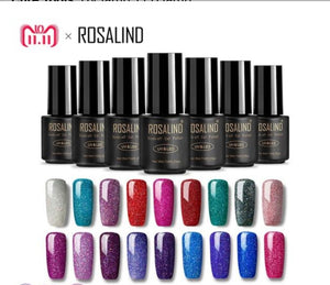 ROSALIND Gel Nails rainbow Gel 7ML