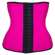 Load image into Gallery viewer, Latex Corset - Waist Trainer Corset