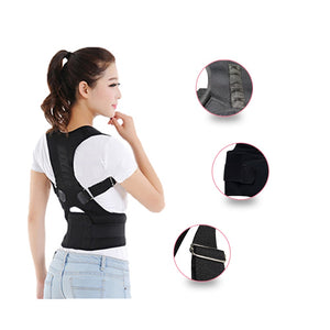 Unisex Magnetic Therapy Posture Corrector Brace Shoulder Back Support