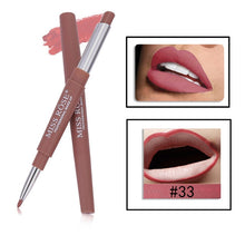Load image into Gallery viewer, 8 Color Double-end Waterproof Matte Lip Makeup Lipstick Pencil