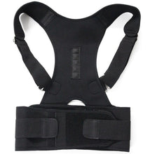Load image into Gallery viewer, Unisex Magnetic Therapy Posture Corrector Brace Shoulder Back Support