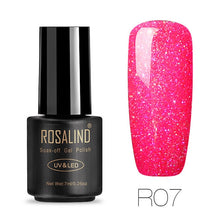 Load image into Gallery viewer, ROSALIND Gel Nails rainbow Gel 7ML