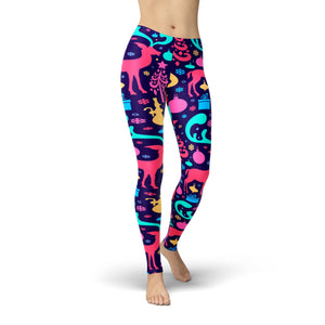 Tonya Colorful Christmas Legging