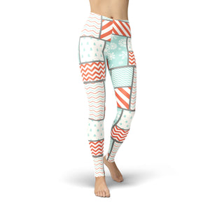 Tonya Christmas Patchwork Legging