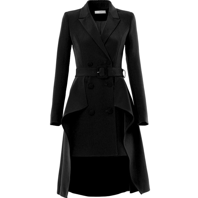 Tuxedo European station new design sense of spring and autumn 2019 small fashion western style suit European small suit coat wom