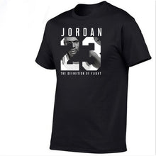 Load image into Gallery viewer, Men's T-shirt cotton T-shirt O collar summer men's casual T-shirt XS-3XL fashion loose T-shirt 2020 New Jordan 23
