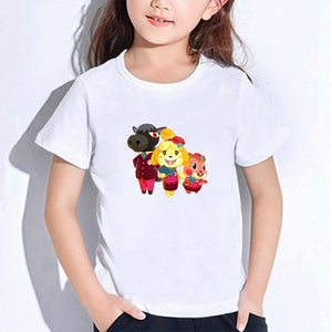 2020 Spring New Kids Arrival Clothes T Shirt Animal Crossing Gaming T-shirt for Boys and Girls Toddler Shirts Tee