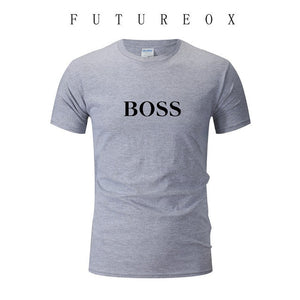 2020 new summer men's fashion T-shirt printed T-shirt O-neck short-sleeved European and American style T-shirt 100% cotton sport