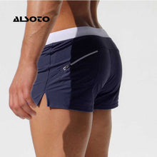 Load image into Gallery viewer, ALSOTO Summer Swimwear Men Breathable Men's Swimsuits Trunks Boxer Briefs Sunga SwimSuits Maillot De Bain Beach Shorts 2020 New