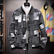 Load image into Gallery viewer, New Quality Men's Camouflage Zipper Jackets Male Coats fashion Camo Jacket Mens Hip Brand Clothing Autumn Outwear Plus Size 3XL