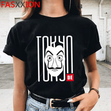 Load image into Gallery viewer, New Money Heist Cool Tshirt Men La Casa De Papel Harajuku T-shirt House of Paper Graphic Tshirt Bella Ciao Hip Hop Top Tees Male