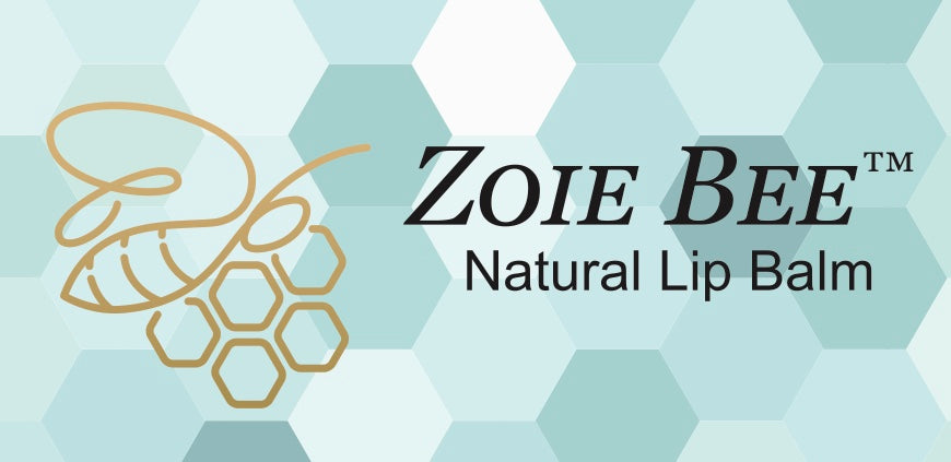 The Zoie Company. Zoie Bee™ moisturizing lip balm is made in the USA from all organic or all natural ingredients. A safe and gentle product for the whole family!  Available in five flavors, and unflavored.