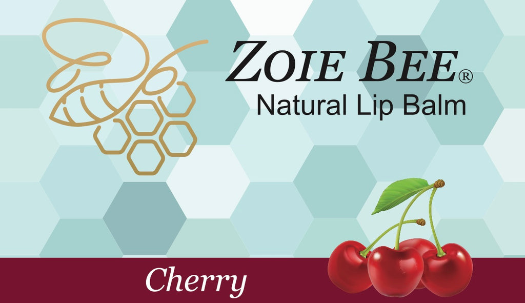 Zoie Bee Cherry Lip Balm